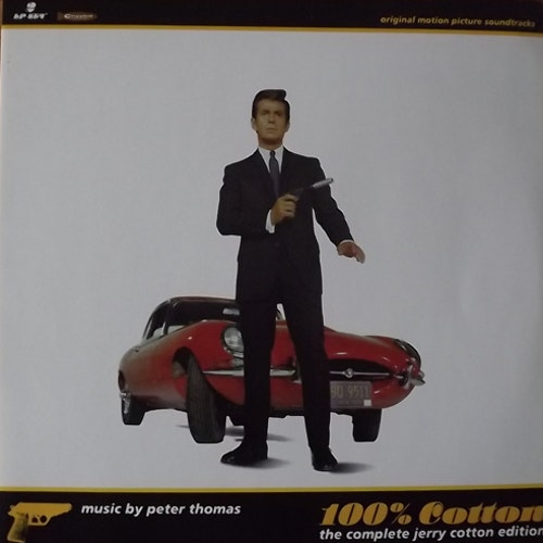 SOUNDTRACK Peter Thomas – 100% Cotton (The Complete Jerry Cotton Edition) (Crippled Dick Hot Wax! - Germany original) (EX) 2LP