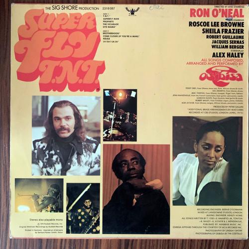 SOUNDTRACK Osibisa – Super Fly T.N.T. (Buddah - Germany original) (VG+/VG-) LP