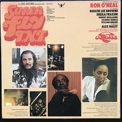 SOUNDTRACK Osibisa – Super Fly T.N.T. (Buddah - Germany original) (VG+) LP