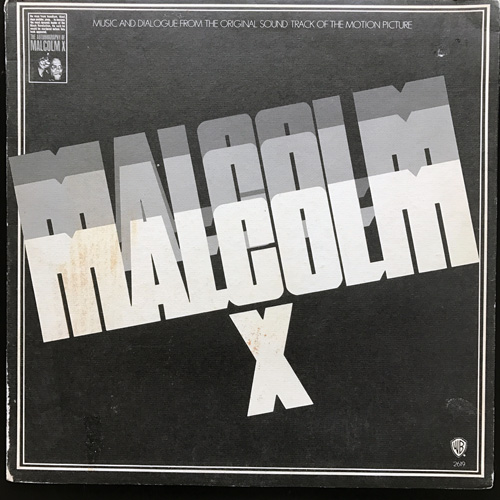 SOUNDTRACK Malcolm X (Warner - USA original) (VG/VG+) LP