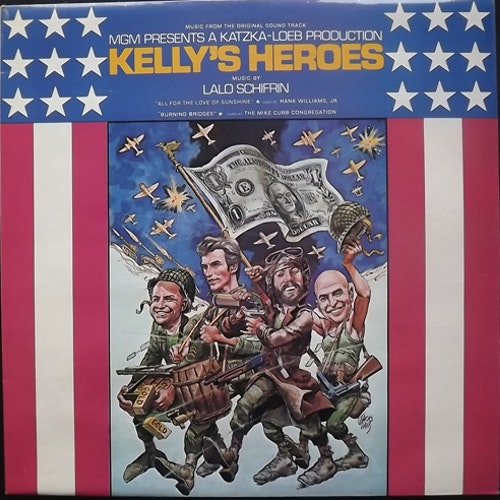 SOUNDTRACK Lalo Schifrin ‎– Kelly's Heroes (MGM - UK original) (EX/NM) LP