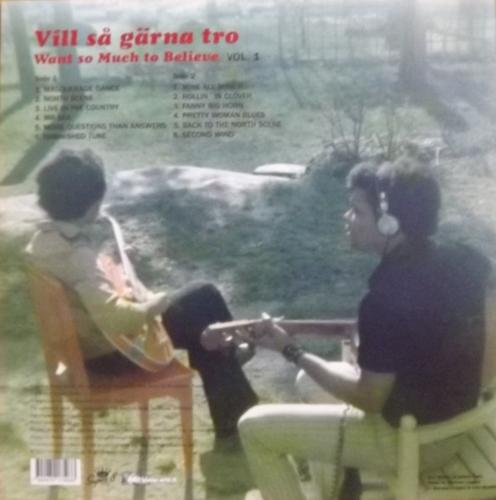 "SOUNDTRACK John ""Rabbit"" Bundrick & Johnny Nash – Vill Så Gärna Tro - Want So Much To Believe Vol. 1 (Mellotronen - Sweden original) (NM) LP+DVD"
