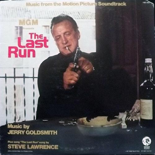 SOUNDTRACK Jerry Goldsmith – The Last Run (MGM - USA original) (VG/VG+) LP