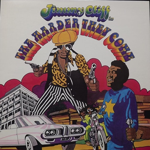 SOUNDTRACK The Harder They Come (Island - UK 1976 reissue) (EX/VG+) LP