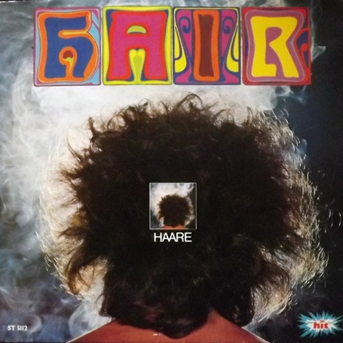 SOUNDTRACK Hair (Stereo Hit Mono - Germany early 70s reissue) (VG/VG+) LP