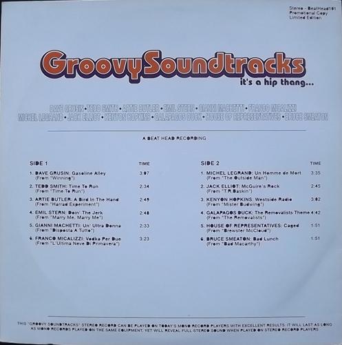 SOUNDTRACK Groovy Soundtracks (Beat Head - Europe unofficial release) (EX) LP