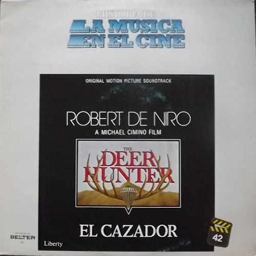 SOUNDTRACK El Cazador (The Deer Hunter) (Belter - Spain reissue) (VG/VG+) LP