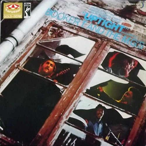 SOUNDTRACK Booker T. And The M.G.'s – Uptight (Karusell - Germany reissue) (VG+) LP