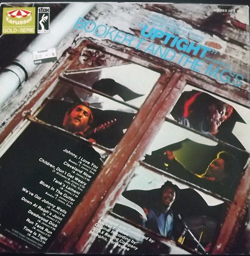 SOUNDTRACK Booker T. And The M.G.'s ‎– Uptight (Karusell - Germany reissue) (VG+) LP
