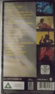 R.E.M. Tourfilm (Warner - Europe original) (EX) VHS