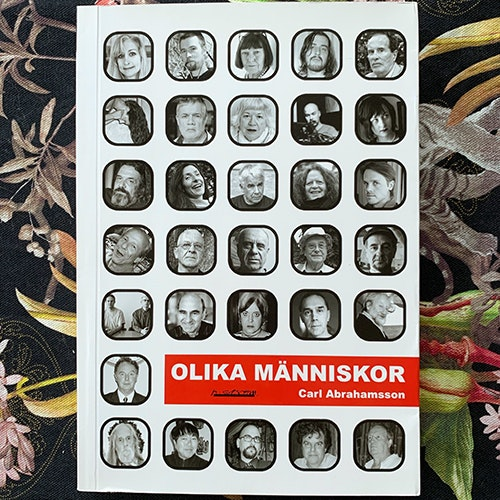 OLIKA MÄNNISKOR Carl Abrahamsson (H:ström - Sweden original) (EX) BOOK