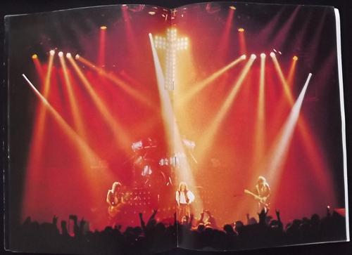 BLACK SABBATH Mob Rules (VG) TOUR PROGRAM