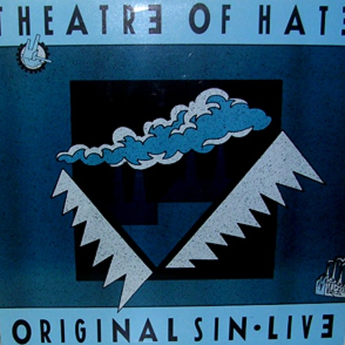 THEATRE OF HATE Original Sin - Live (Castle - Germany original) (EX) LP
