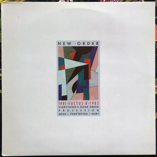 NEW ORDER 1981-1982 (Factory - Italy original) (EX) MLP