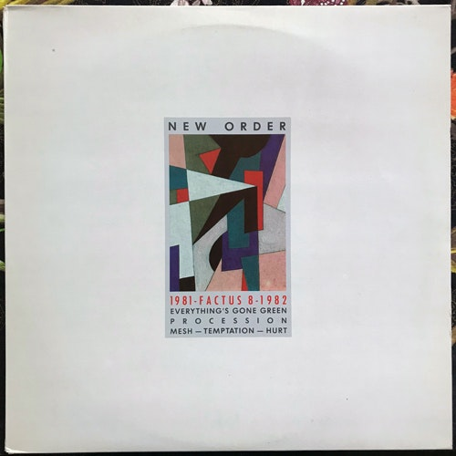 NEW ORDER 1981-1982 (Factory - Italy original) (EX) MLP