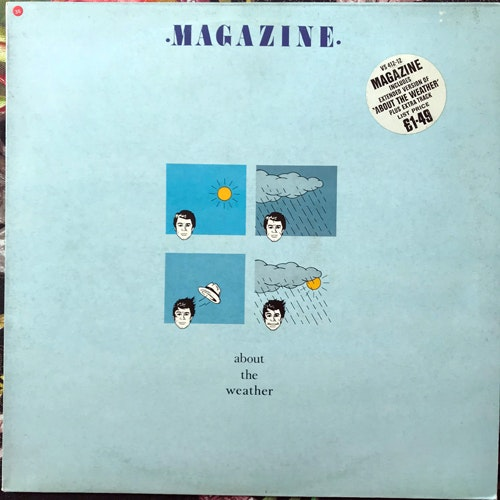 MAGAZINE About The Weather (Virgin - UK original) (VG/VG+) 12""