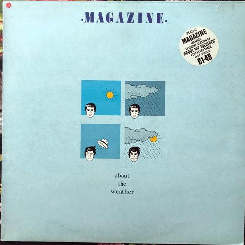 "MAGAZINE About The Weather (Virgin - UK original) (VG/VG+) 12"""