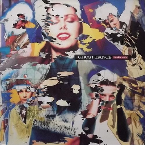 GHOST DANCE Stop The World (Chrysalis - Spain original) (EX/VG+) LP