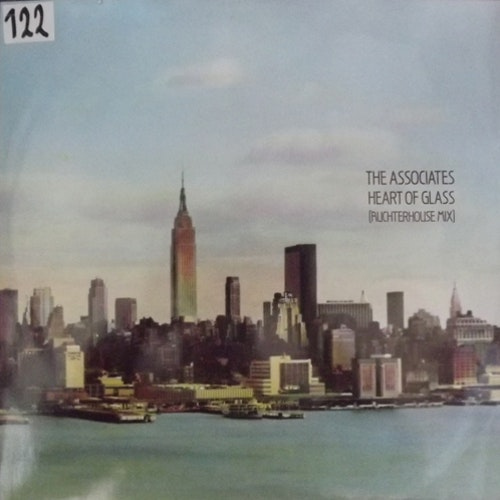 "ASSOCIATES, the Heart Of Glass (Auchterhouse Mix) (WEA - UK original) (VG+/EX) 12"" EP"