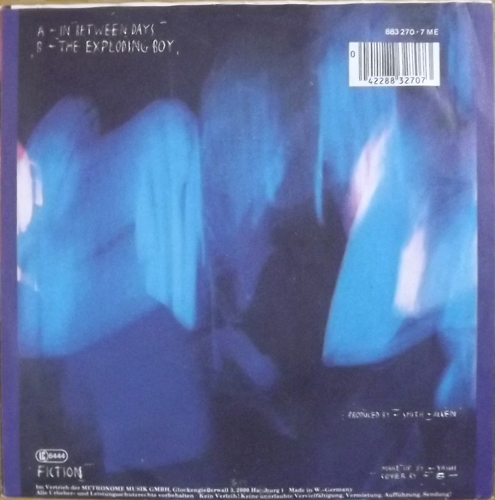 """CURE, the In Between Days (Fiction - Germany original) (VG+/EX) 7"""""""