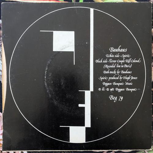 """BAUHAUS Spirit (Beggars Banquet - UK repress) (VG) 7"""""""