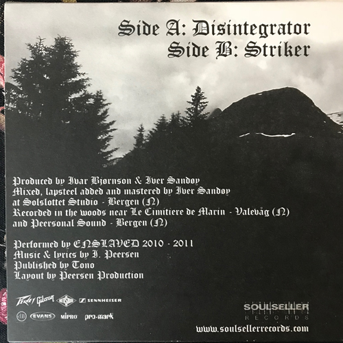 "ENSLAVED Thorn (Soulseller - Holland original) (NM/EX) 7"""