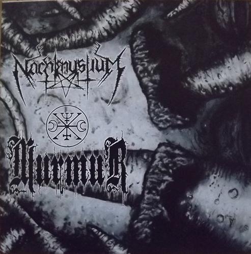 "NACHTMYSTIUM/MURMUR Split (Inferna Profundus - Lithuania original) (EX/NM) 7"""