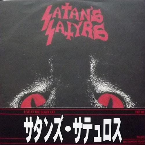"""SATAN'S SATYRS Live At The Black Cat (Trash King - Japan original) (NM/EX) 7"""""""