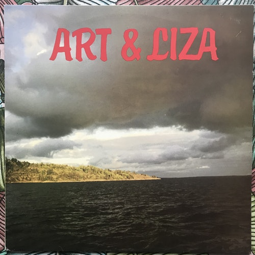 ART & LIZA Art & Liza (Svenska Media AB - Sweden original) (VG+) LP