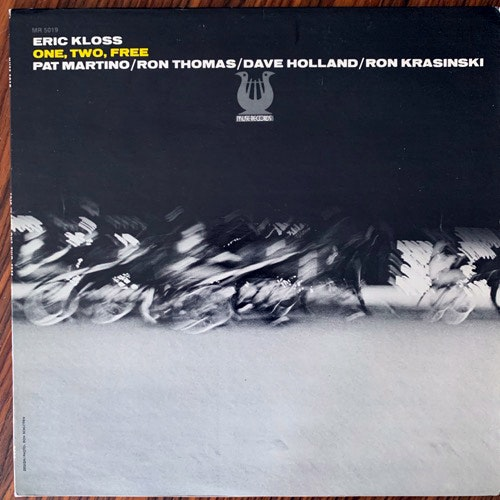 ERIC KLOSS One, Two, Free (Muse - USA original) (VG+) LP