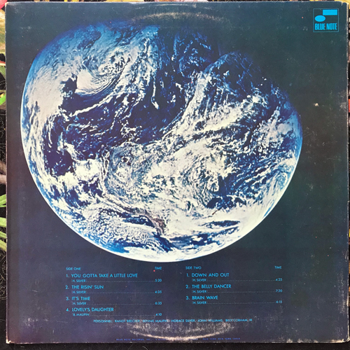 HORACE SILVER QUINTET, the You Gotta Take A Little Love (Blue Note - USA original) (VG+) LP