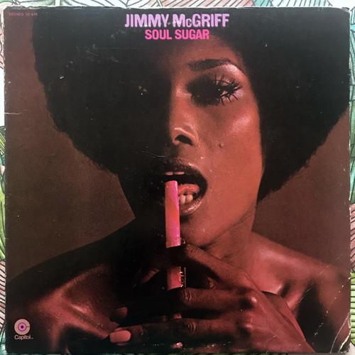 JIMMY McGRIFF Soul Sugar (Mispress) (Capitol - USA original) (VG-/VG+) LP