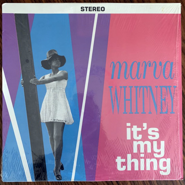 MARVA WHITNEY It's My Thing (Famous Flame - USA reissue) (EX) LP