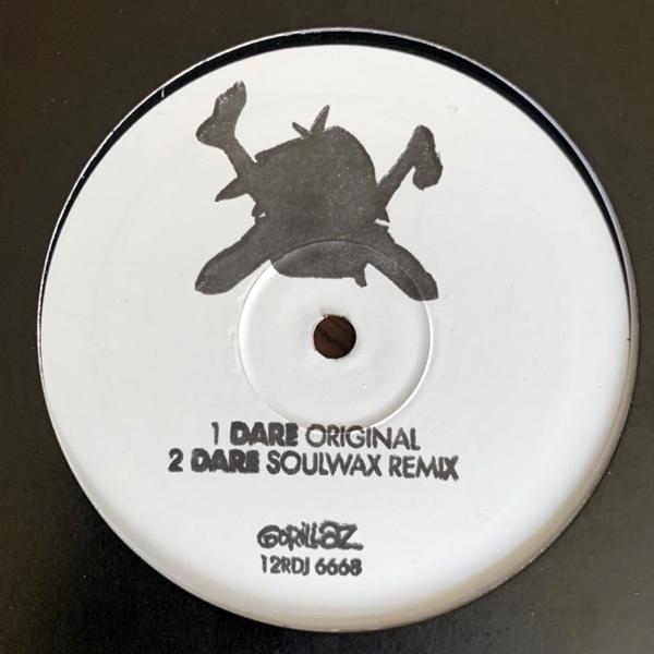 """GORILLAZ Dare (Promo) (Parlophone - UK original) (VG/EX) 12"""""""