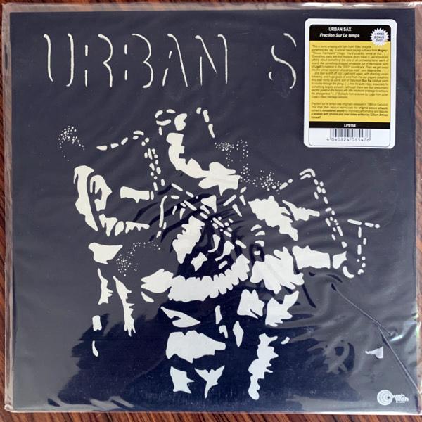 URBAN SAX, GILBERT ARTMAN Urban Sax (Wah Wah - Spain reissue) (NM) LP+DVD