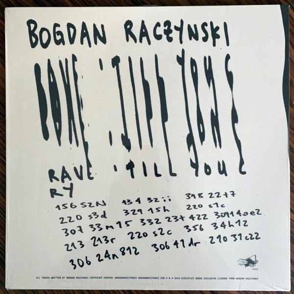 BOGDAN RACZYNSKI Rave 'Till You Cry (Disciples - UK original) (EX) 2LP