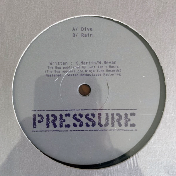 FLAME 2 (Burial, The Bug) Dive / Rain (Pressure - UK original) (NM) 12""