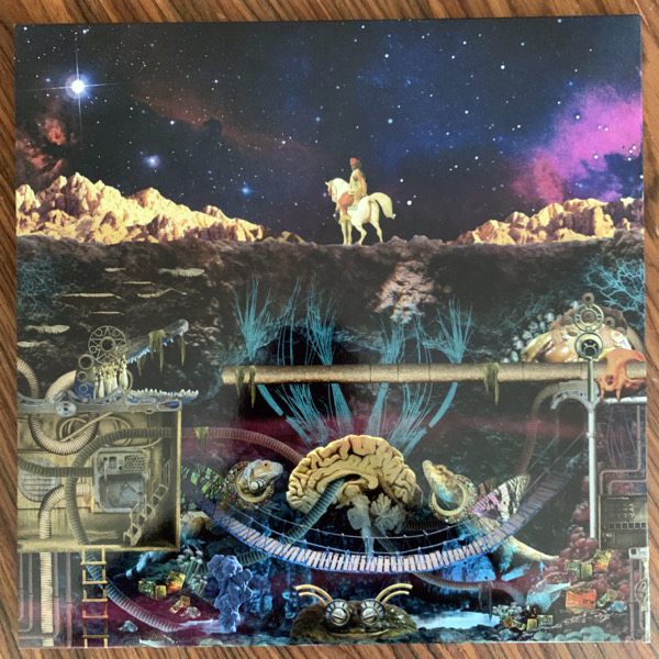 FLYNG LOTUS Flamagra (Pop-up sleeve, clear vinyl) (Warp - UK original) (EX/NM) 2LP