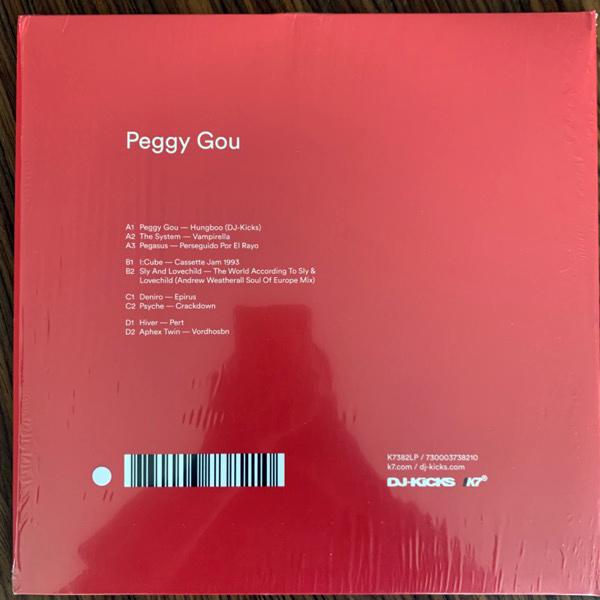 PEGGY GOU DJ-Kicks (White vinyl) (!K7 - UK original) (VG+/NM) 2LP