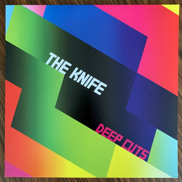 KNIFE, the Deep Cuts (Rabid - Sweden 2013 reissue) (EX) 2LP+CD