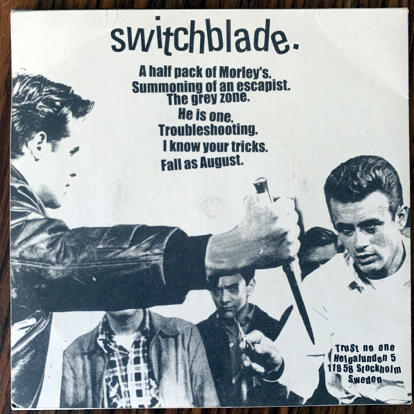 SWITCHBLADE Switchblade (Trust No One - Sweden original) (VG+) 7""