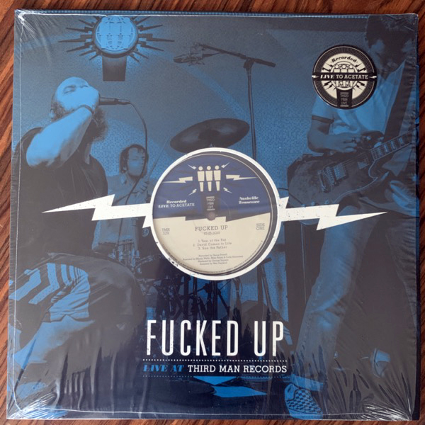 FUCKED UP Live At Third Man Records (Third Man - USA original) (VG+/EX) LP
