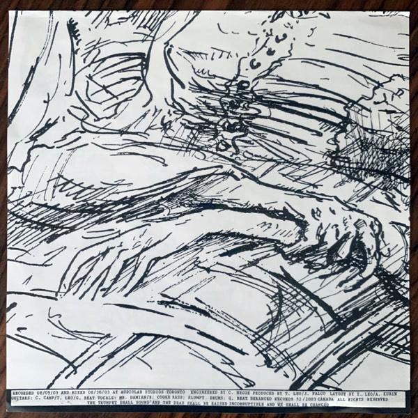 "FUCKED UP Dance Of Death (Deranged - Canada 2005 repress) (EX) 7"""