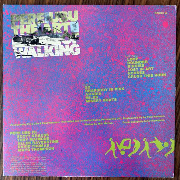 PERE UBU The Art Of Walking (Rough Trade - UK original) (VG+/VG) LP
