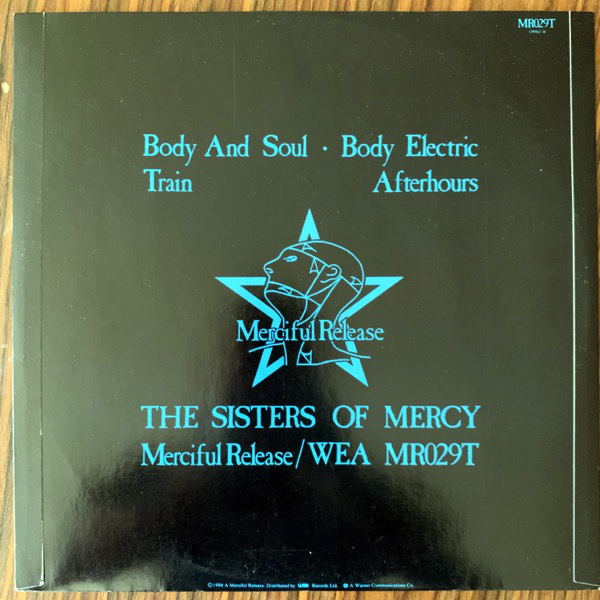 SISTERS OF MERCY, the Body And Soul (Merciful Release - UK original) (VG+) 12""
