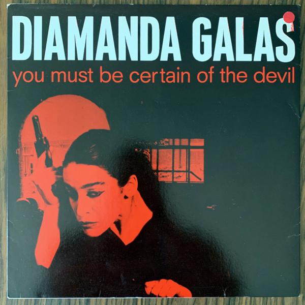 DIAMANDA GALÁS You Must Be Certain Of The Devil (Mute - UK original) (VG+) LP