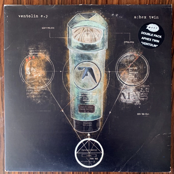 "APHEX TWIN Ventolin (Warp - UK original) (VG/VG+) 2x12"""