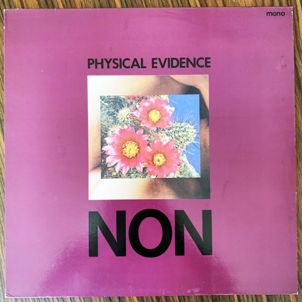 NON Physical Evidence (Mute - UK original) (VG+) LP