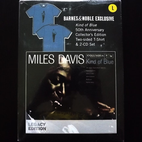MILES DAVIS Kind of Blue (With T-shirt) (Columbia - USA reissue) (SS) 2CD BOX+T-SHIRT