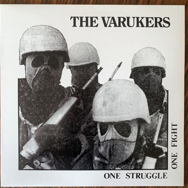 VARUKERS, the One Struggle One Fight (Radiation Reissues - Italy reissue) (NM/EX) LP
